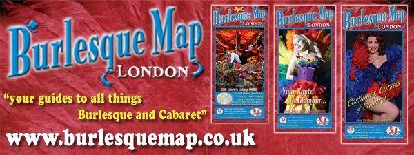 Burlesque Map Lo ndon