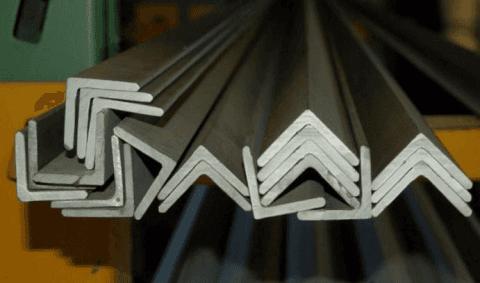 acciaio inox angolare