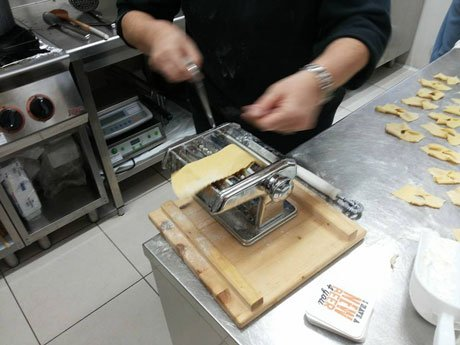 Facendo nostra propria pasta fresca