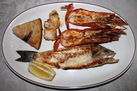 specialità pesce di lago