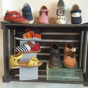 a variety of shoes