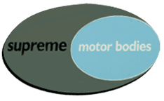 Supreme Motor Bodies logo