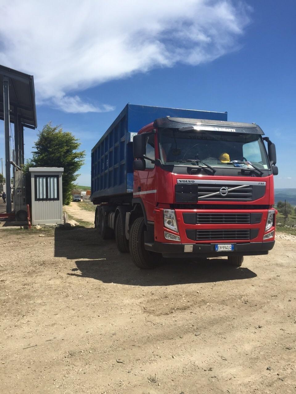 mezzi autorizzati per il trasporto rifiuti non pericolosi