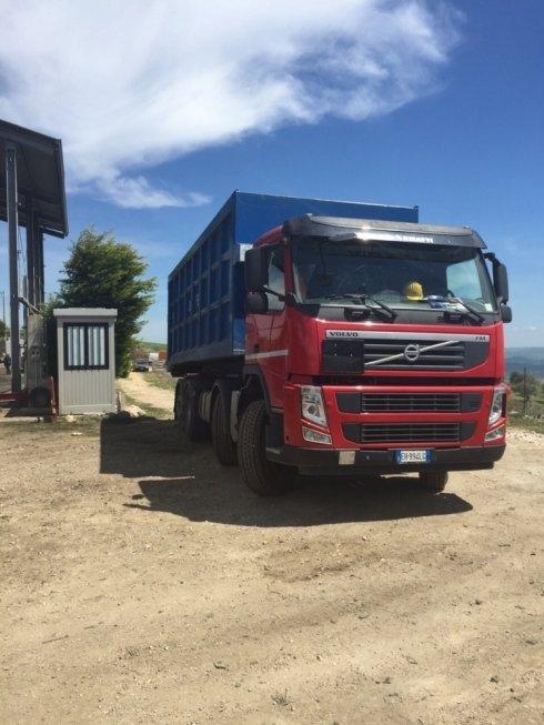 trasporto rifiuti ferrosi