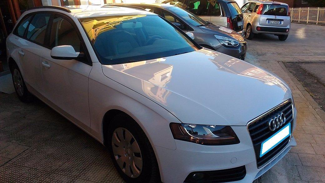 scocca di un'Audi A4