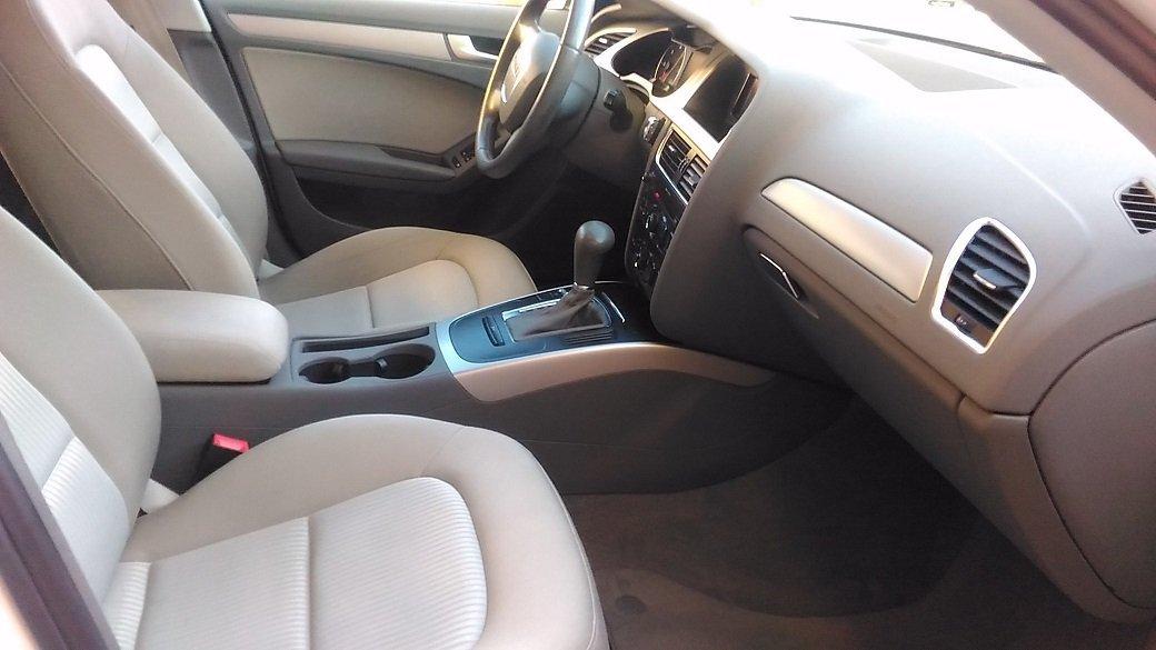sedili di un'Audi A4
