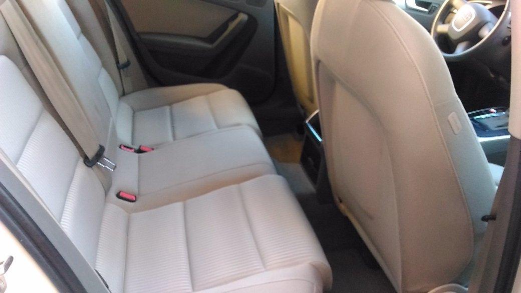 sedili posteriori di un'Audi A4
