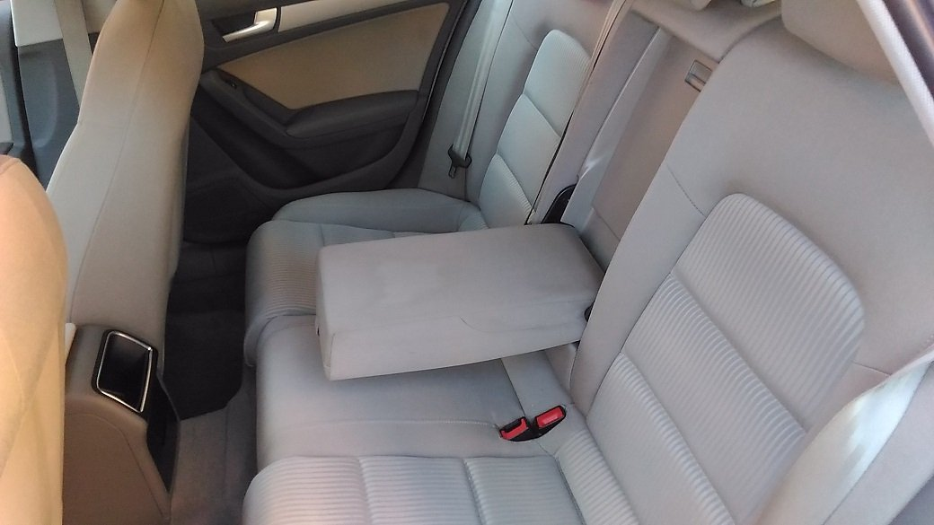 sedili passeggeri di un'Audi A4