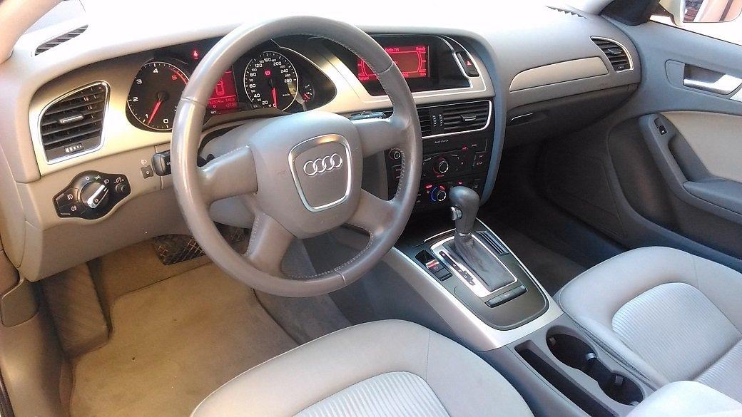 volante di un'Audi A4