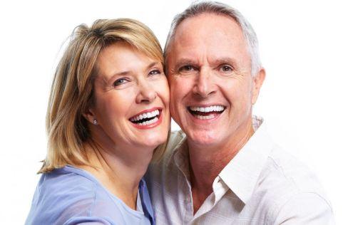 mermaid beach dental surgery old couple smiling
