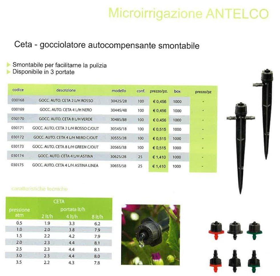 Microirrigazione ANTELCO
