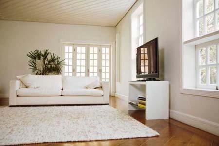 sala con tappeto e divano