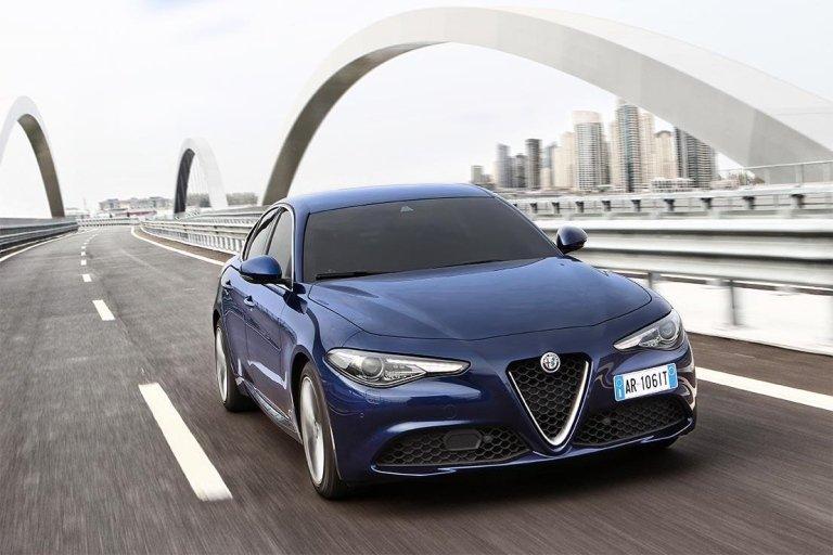 Noleggio Nuova Alfa Romeo Giulia