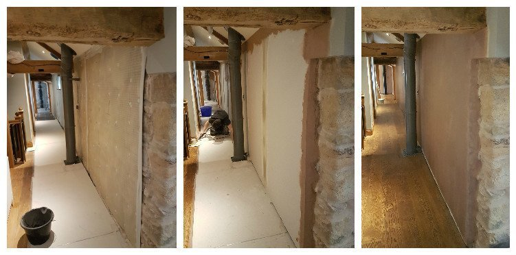 Lateral penetration damp