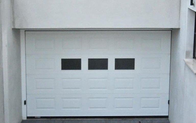 garage bianco automatico