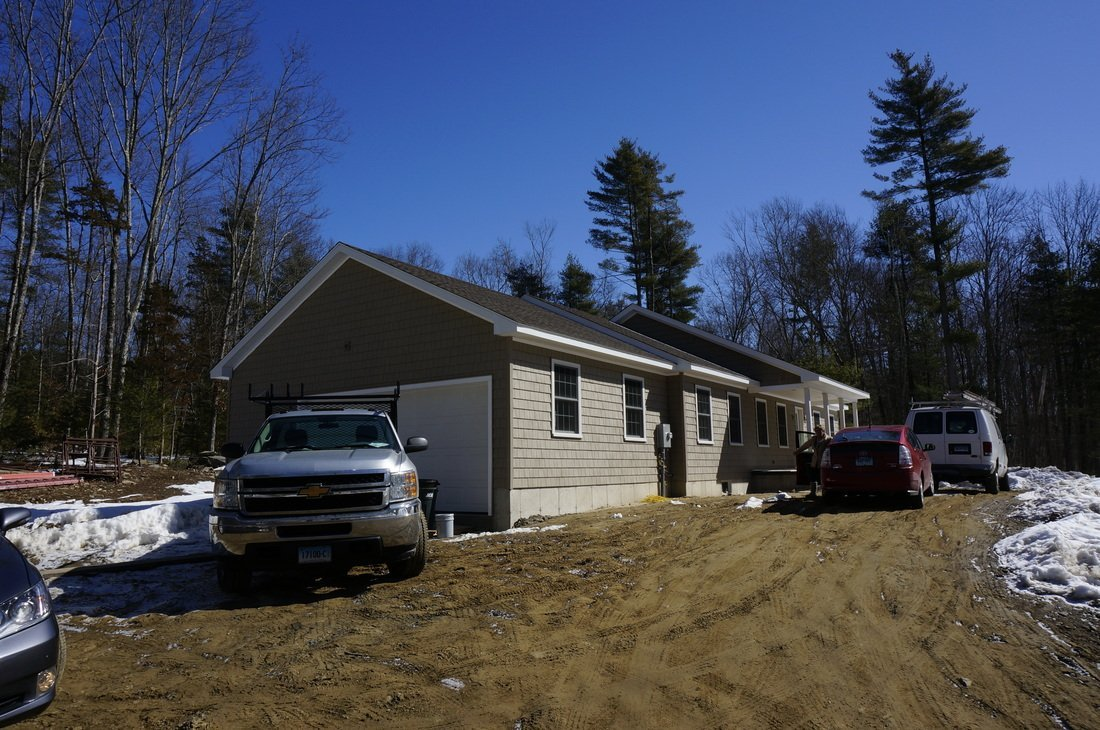 home built with structural insulated panels - SIP Building Solutions - Westport, Fairfield, Stamford, Greenwich, Danbury CT