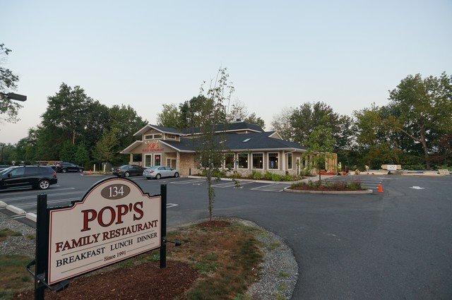 family restaurant built with structural insulated panels - SIP Building Solutions - Westport, Fairfield, Stamford, Greenwich, Danbury CT