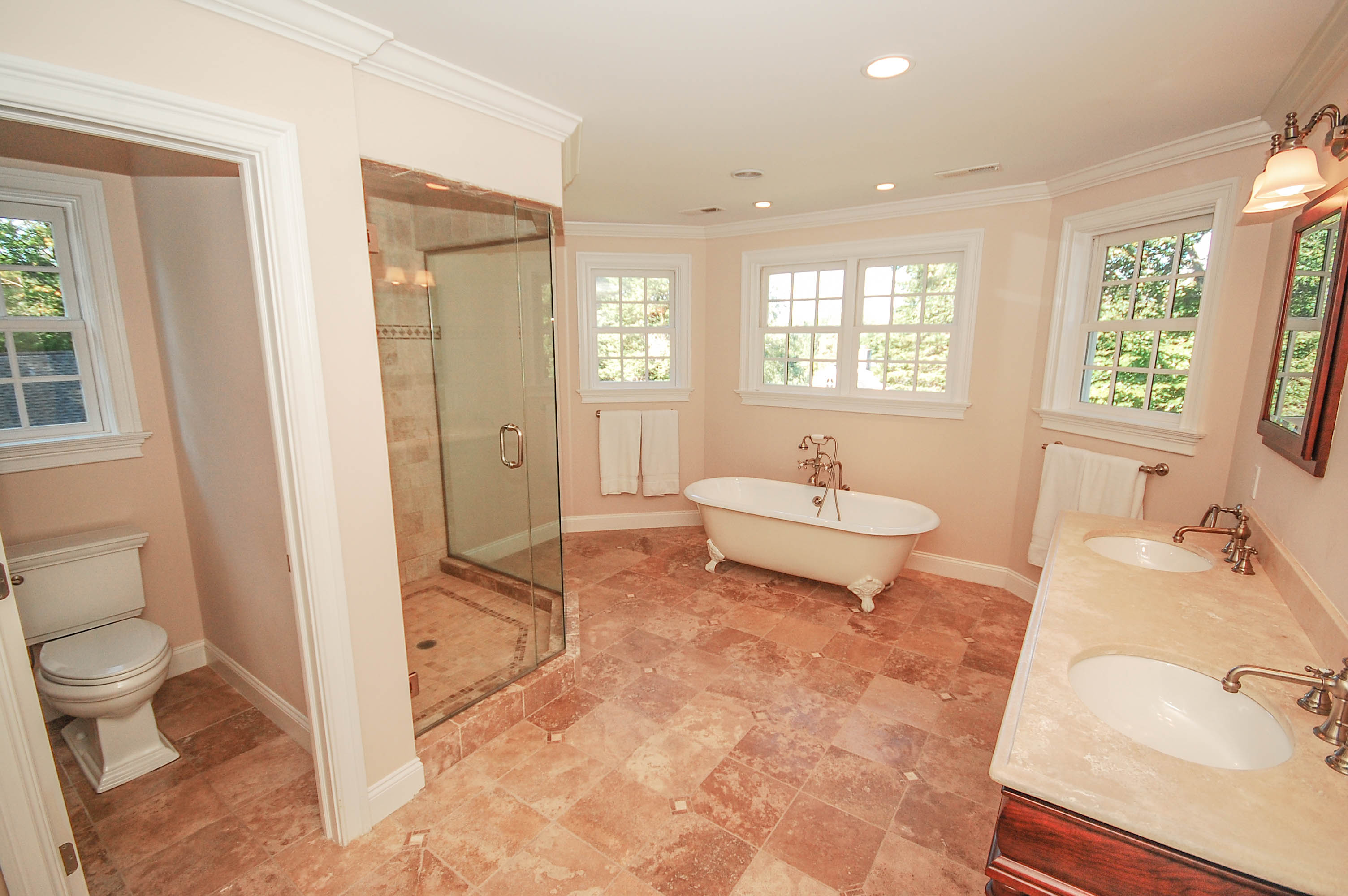 general contractor, master bathroom renovated by SIP Building Solutions - Westport, Fairfield, Stamford, Greenwich, Danbury CT