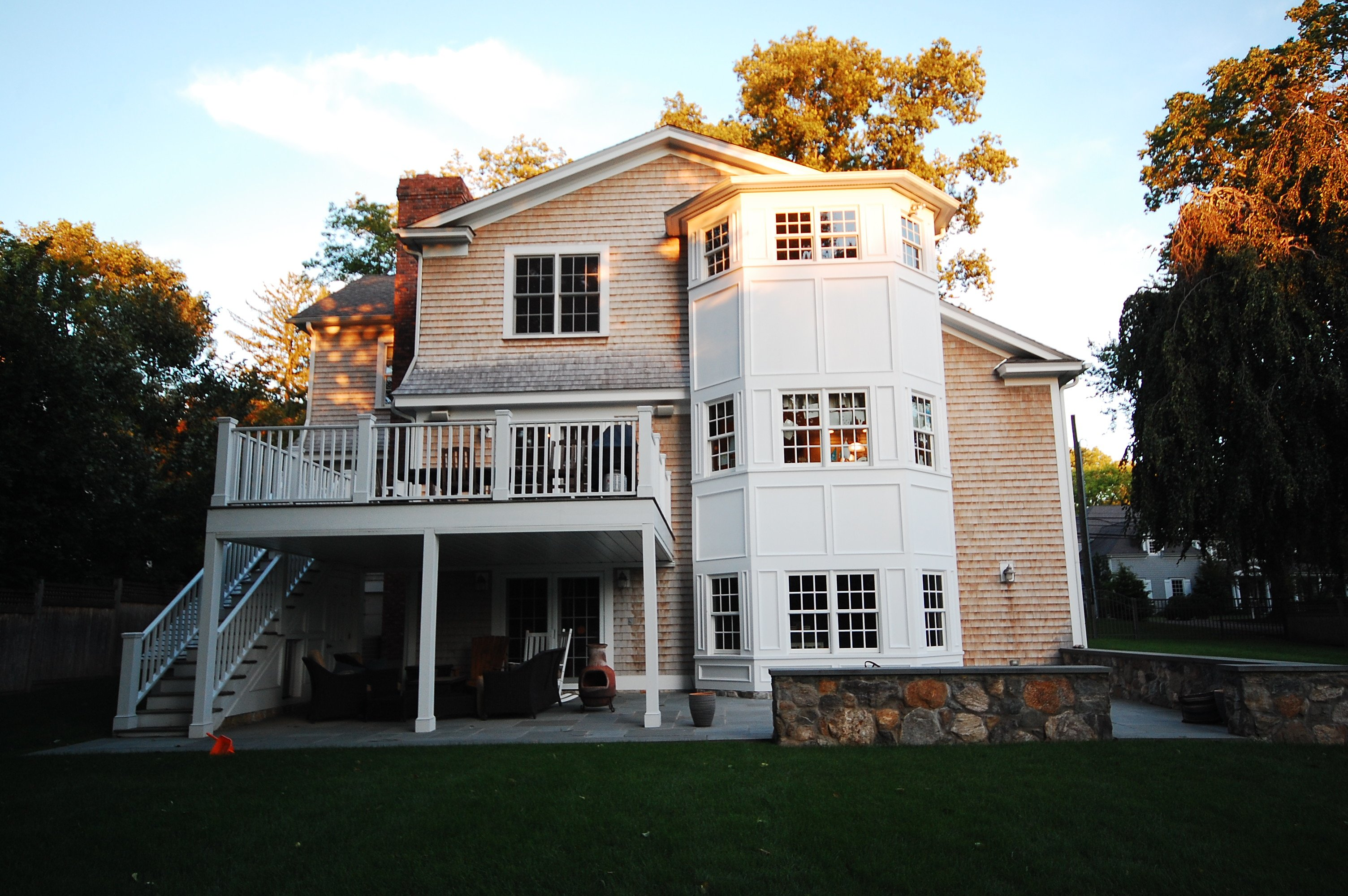 general contractor, exterior of home renovated by SIP Building Solutions - Westport, Fairfield, Stamford, Greenwich, Danbury CT