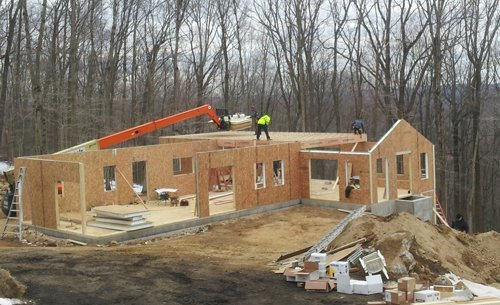 contractors building a high-performance home - Westport, Fairfield, Stamford, Greenwich, Danbury CT - SIP Building Solutions