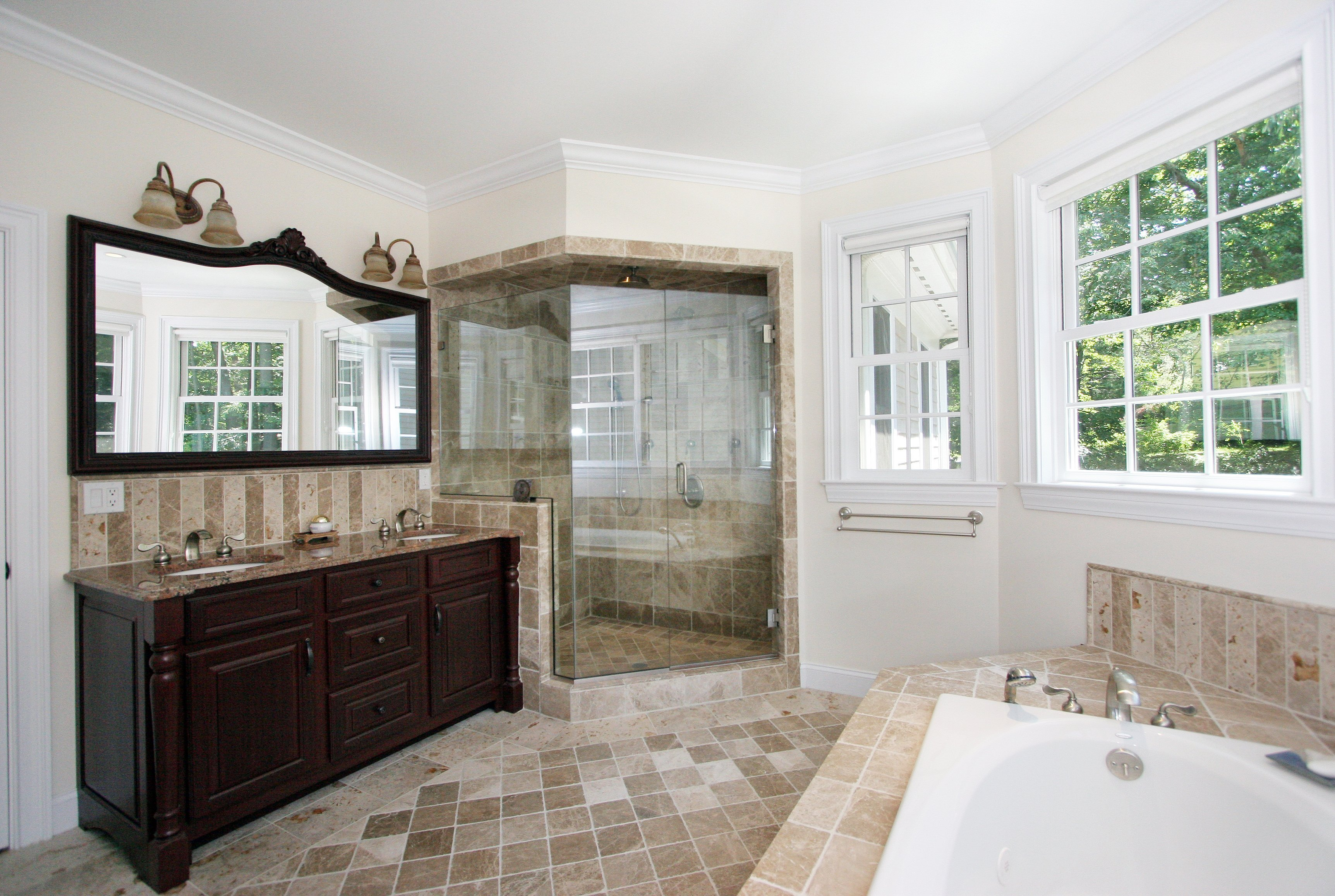 general contractor bathroom renovated by SIP Building Solutions - Westport, Fairfield, Stamford, Greenwich, Danbury CT