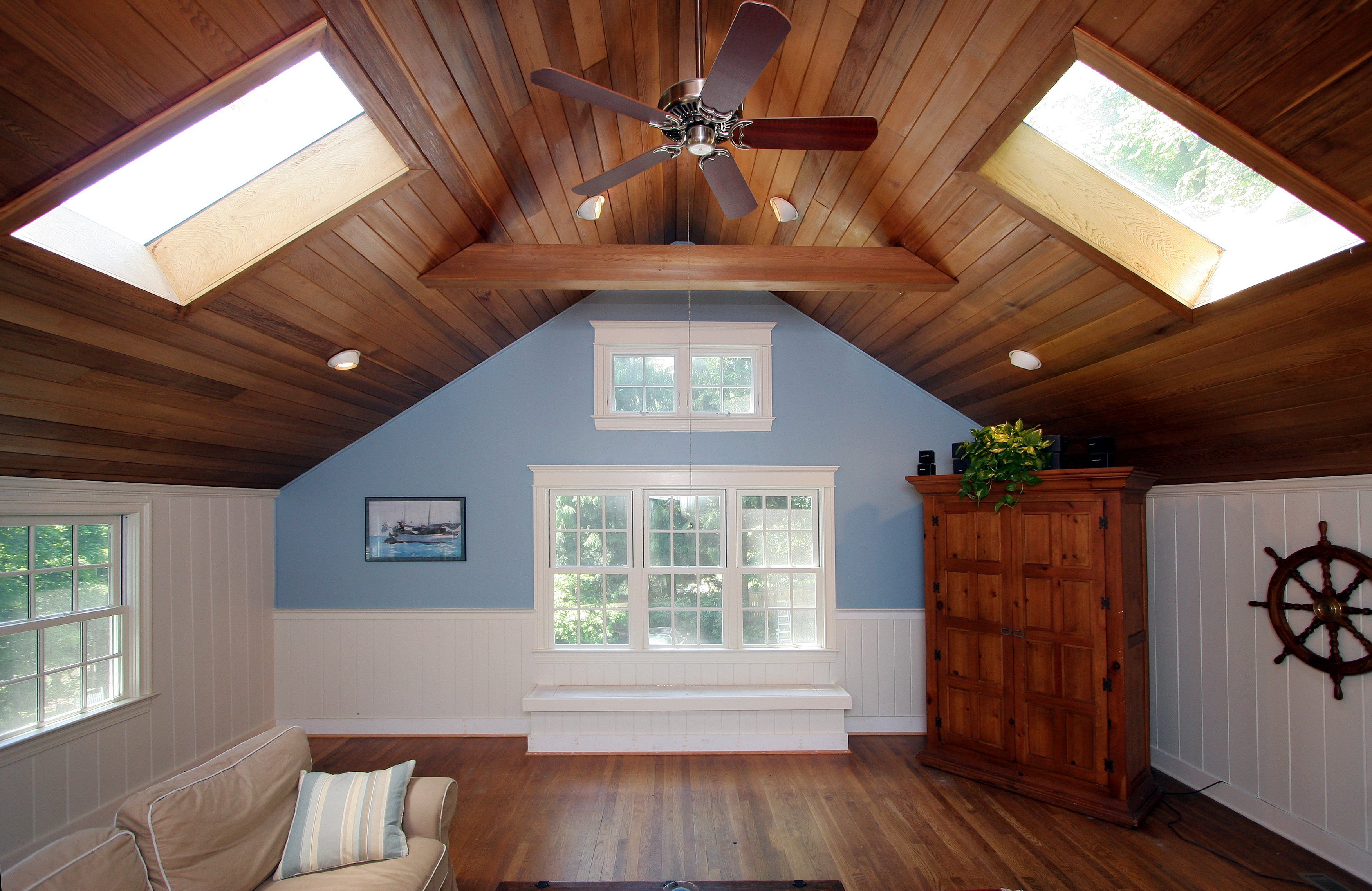 general contractor attic renovation, completed by SIP Building Solutions - Westport, Fairfield, Stamford, Greenwich, Danbury CT