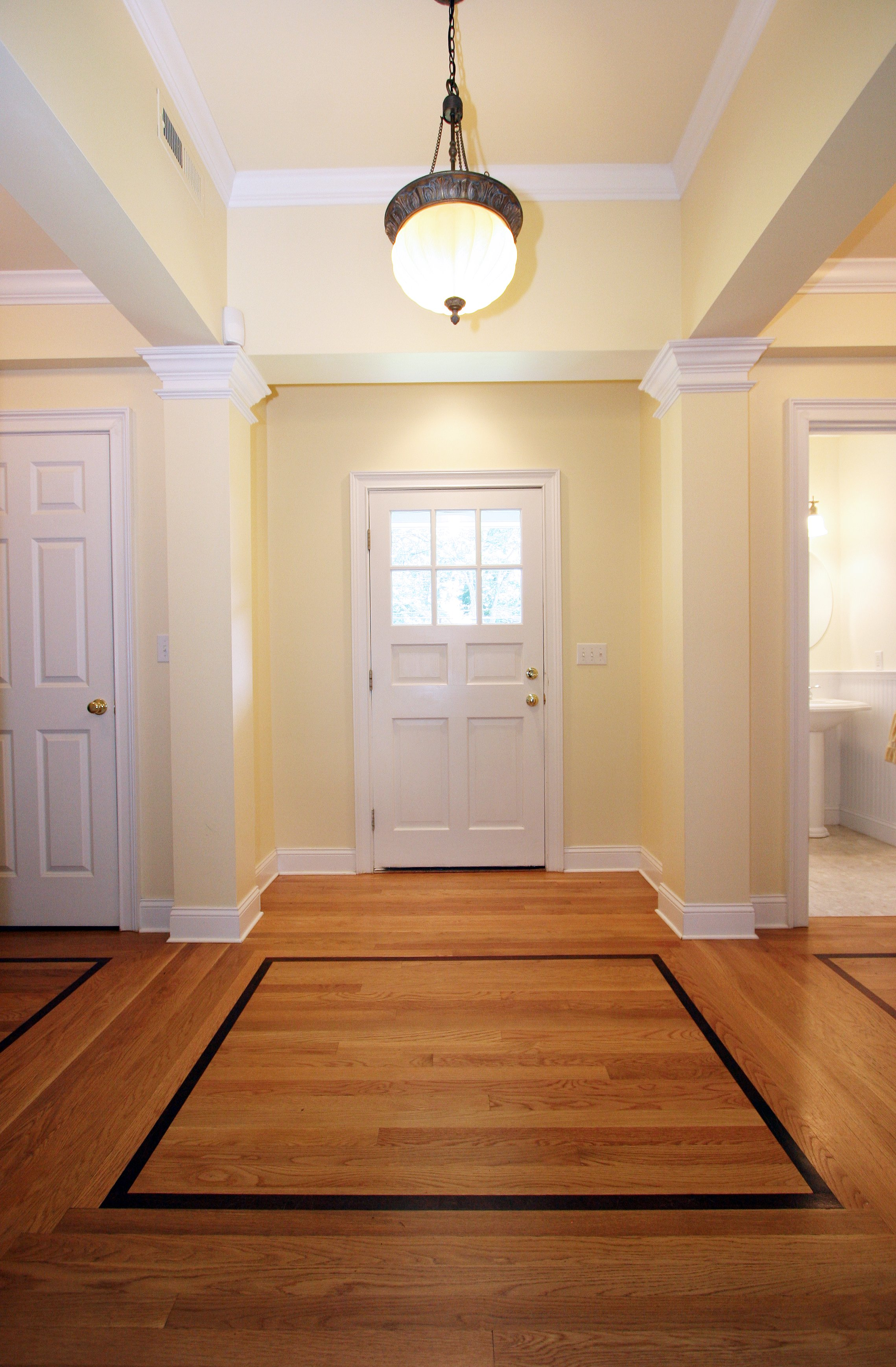 general contractor, hallway renovated by SIP Building Solutions general contractors - Westport, Fairfield, Stamford, Greenwich, Danbury CT