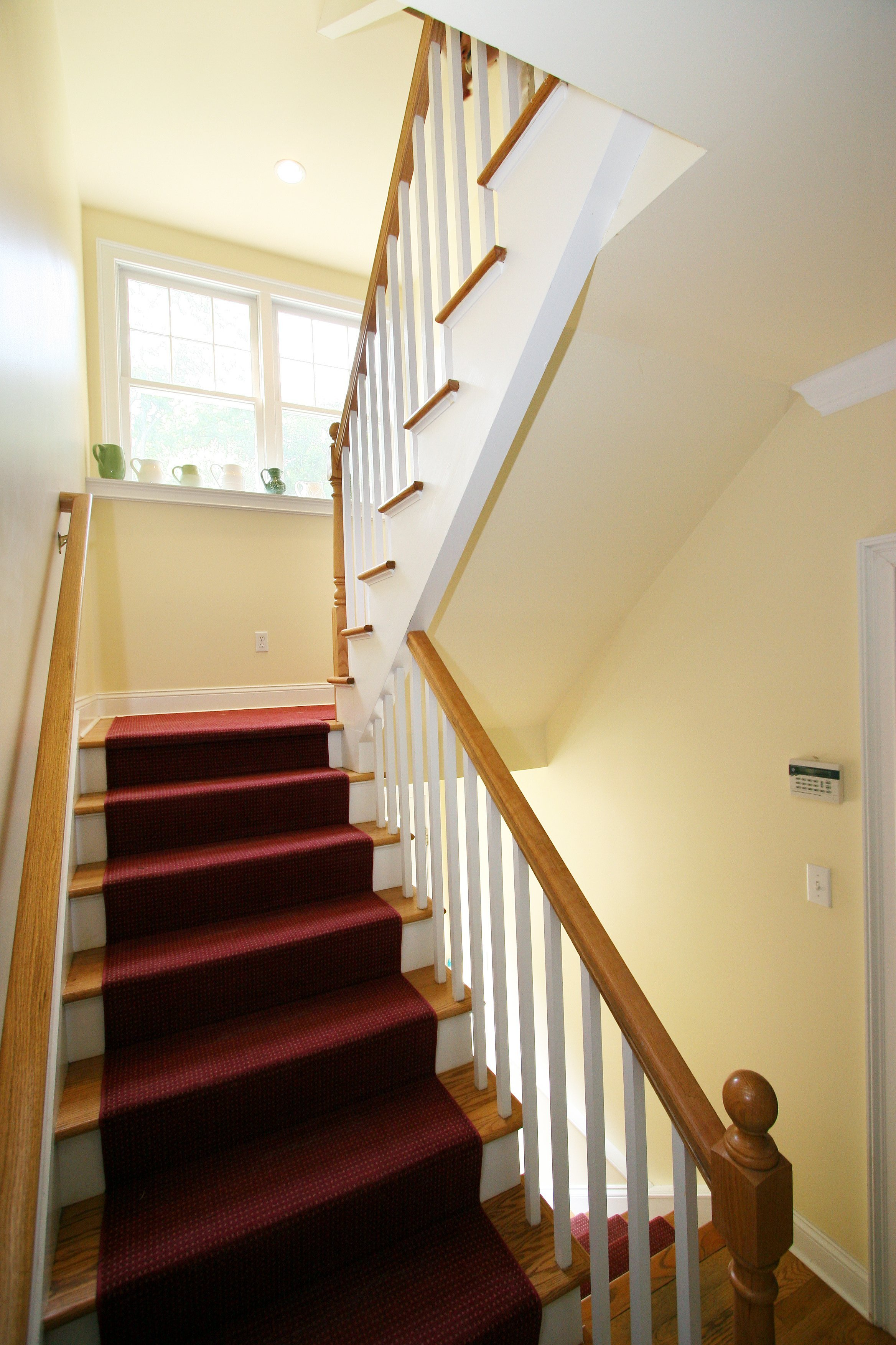general contractor, stairway renovated by SIP Building Solutions general contractors - Westport, Fairfield, Stamford, Greenwich, Danbury CT