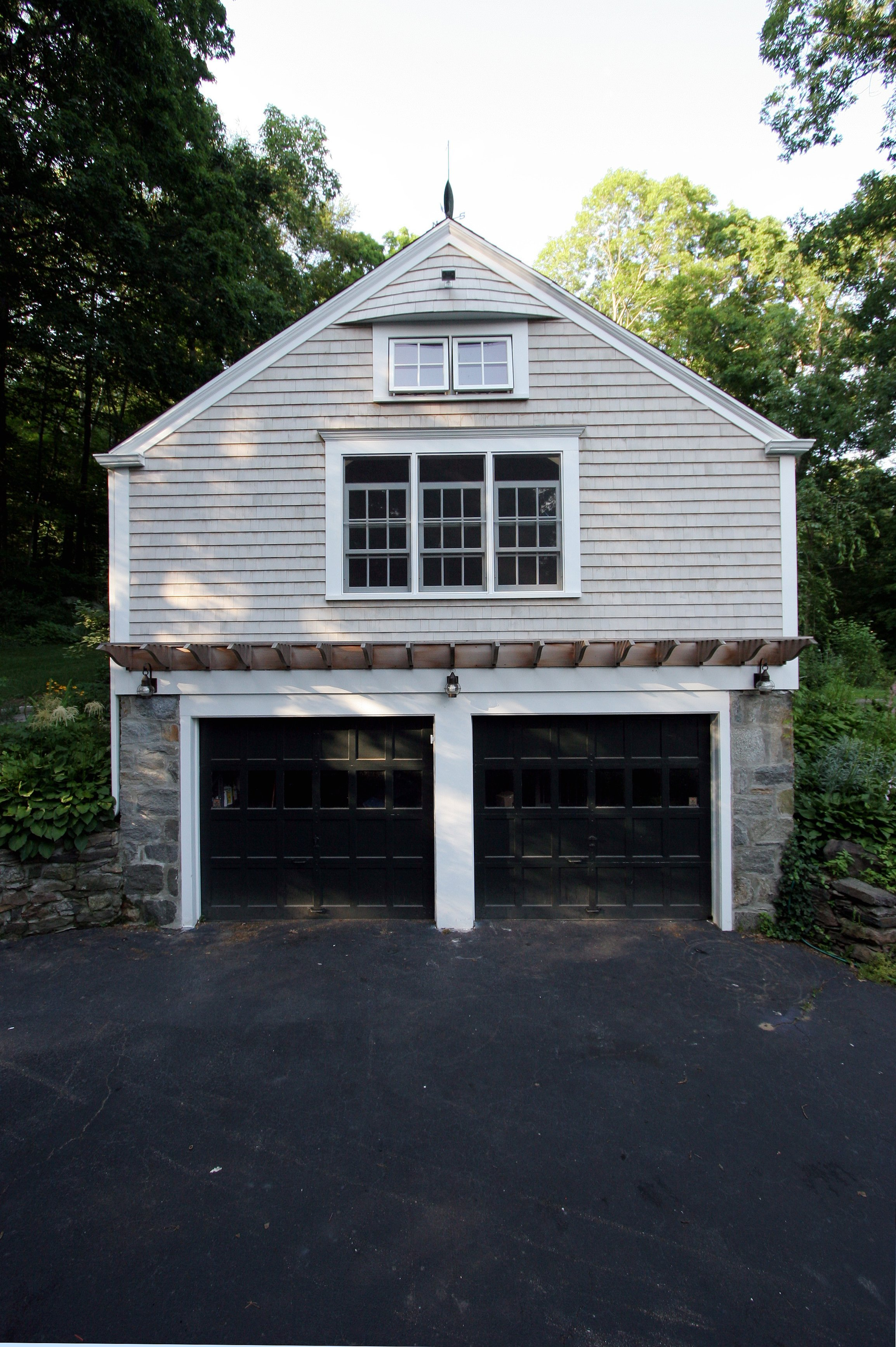 general contractor, exterior of garage renovated by SIP Building Solutions - Westport, Fairfield, Stamford, Greenwich, Danbury CT