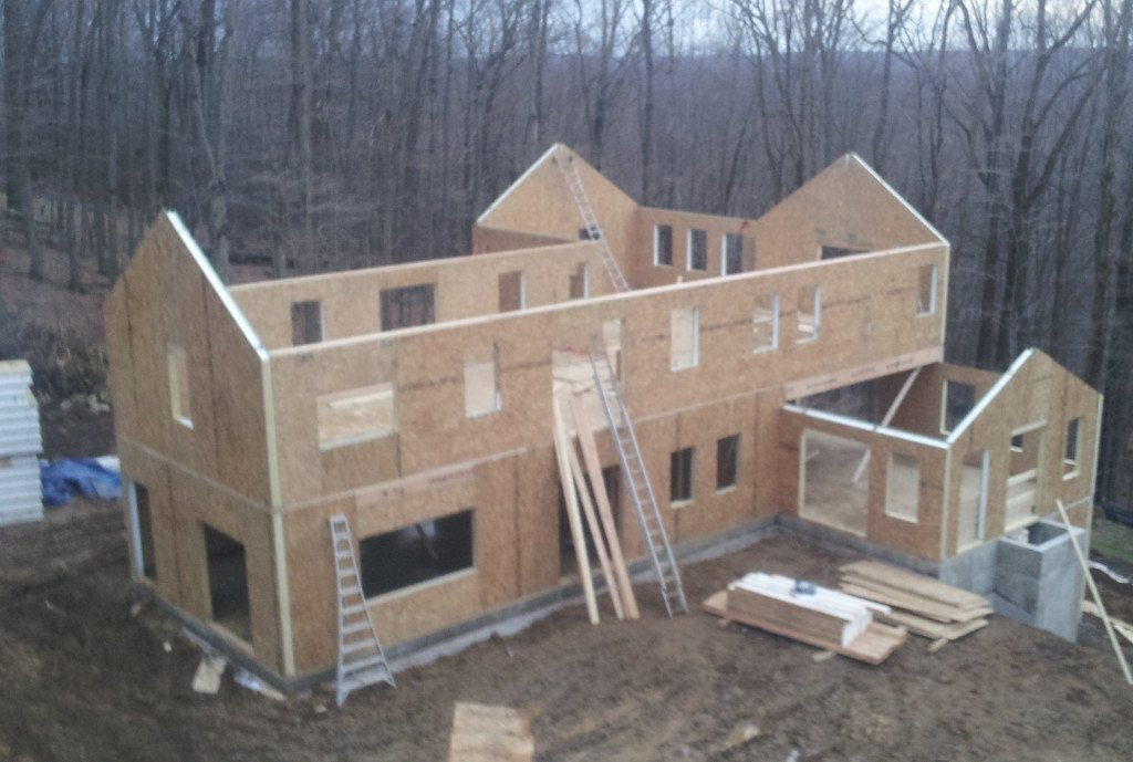 Green home builder structural insulated panel supplier for Sip house construction