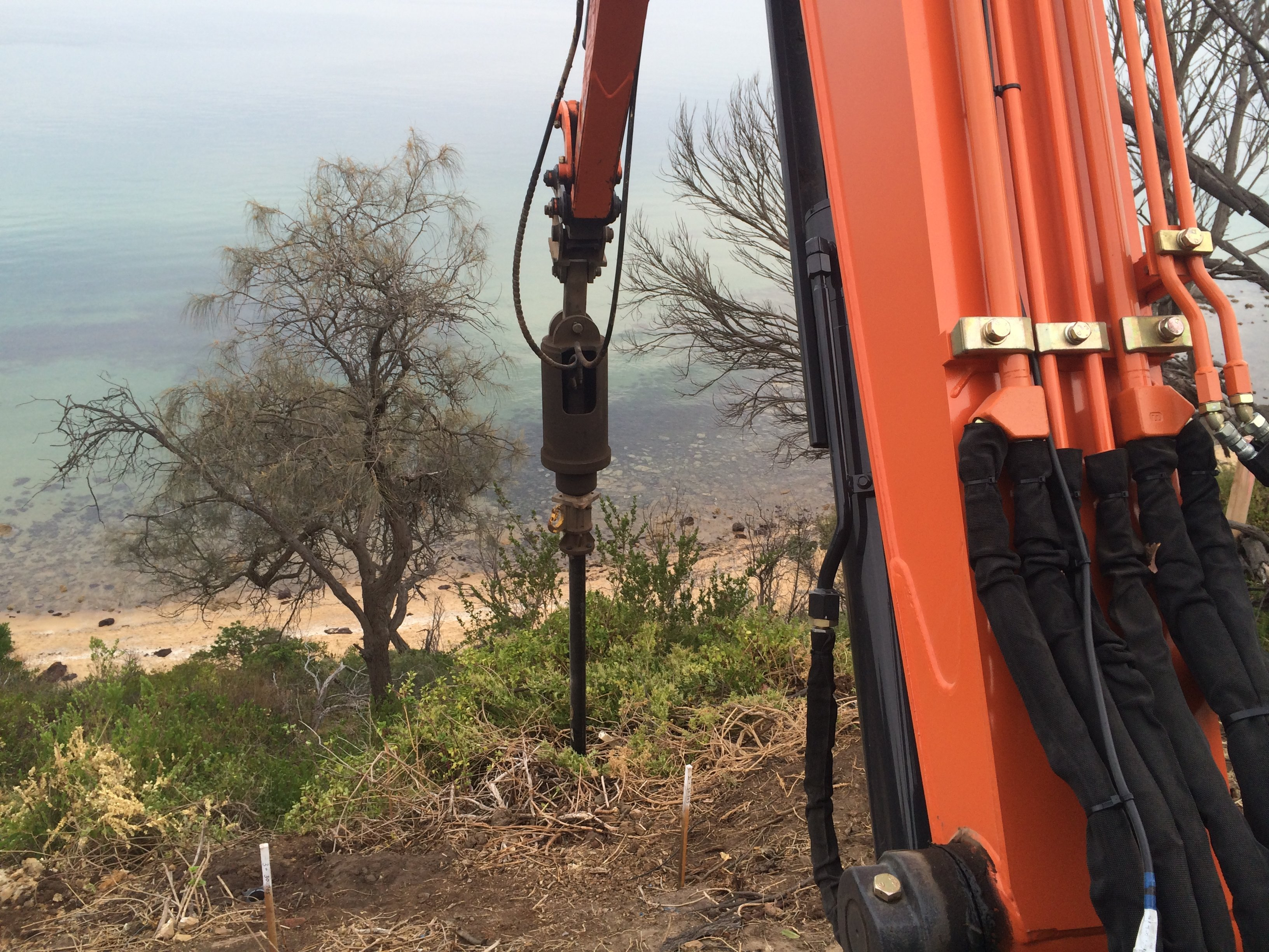 Landslip prevention Mornington Peninsula