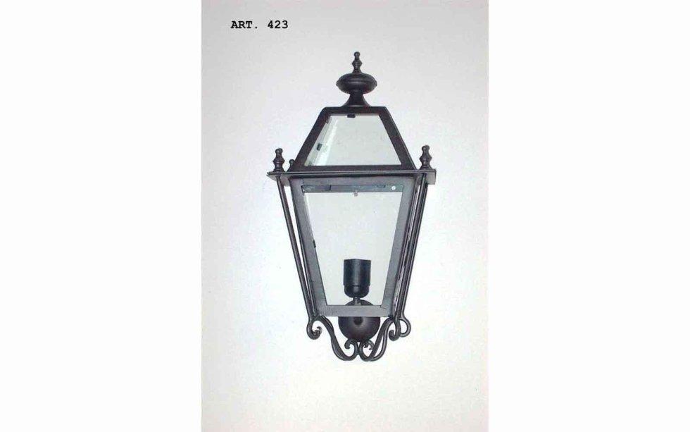Lanterne da esterno ferro battuto lampioni lampione a muro in