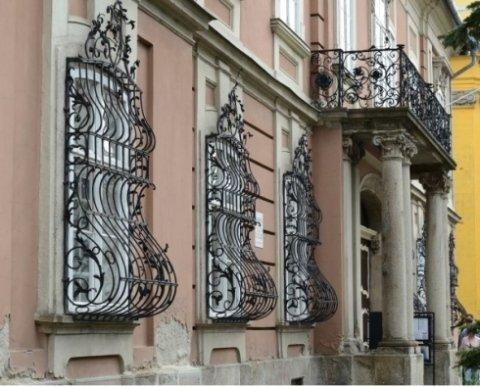 griglie anti intrusione in ferro, griglie in stile per finestre, inferriate in stile