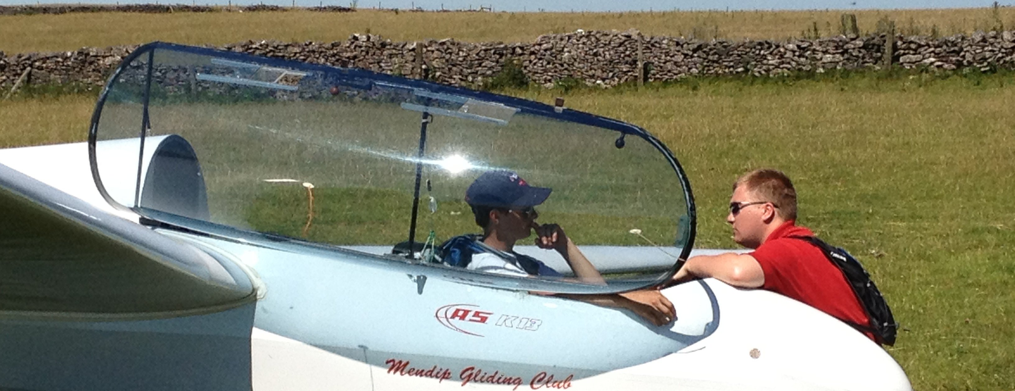 Mendip Gliding ASK13