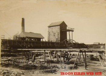 Old Stamps, Wheal Grenville, Troon c 1904