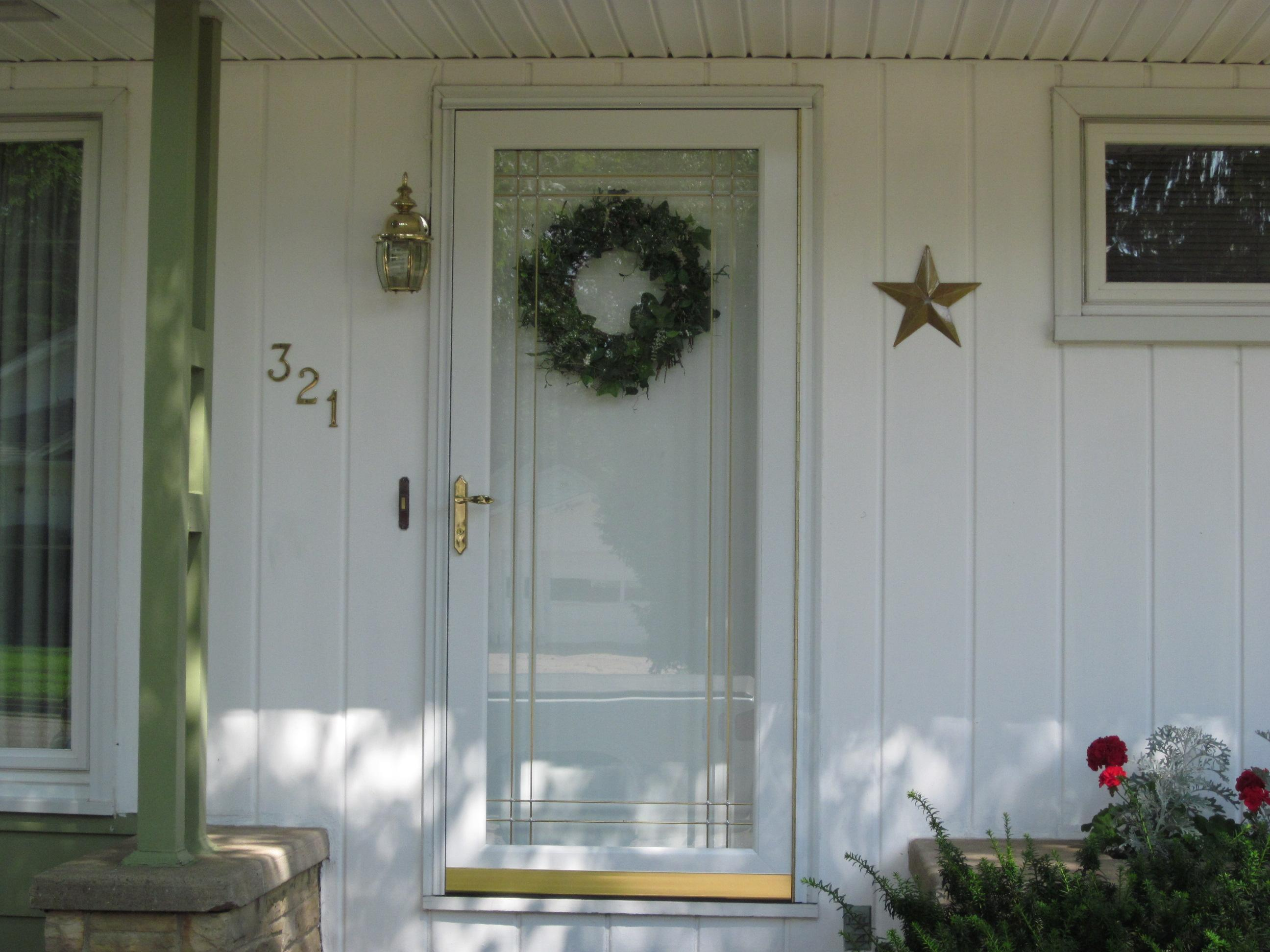 installed entry door for a house in wisconsin rapids wi