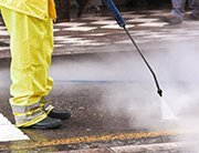 High Pressure Jet Cleaning work