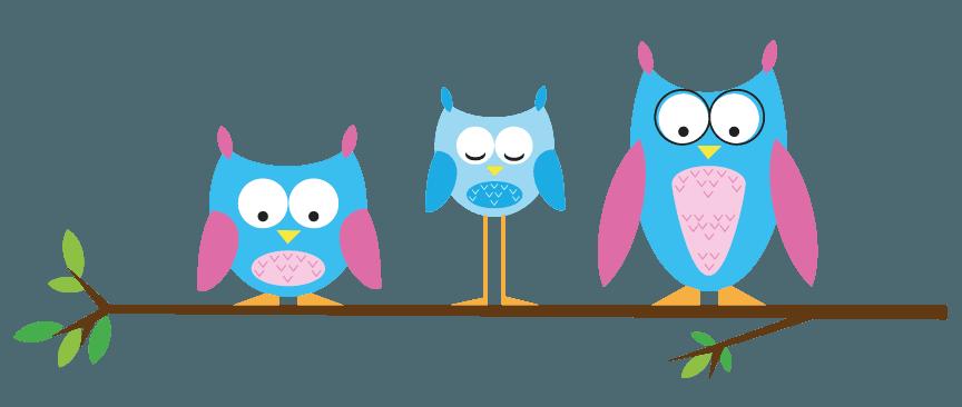 unique owls logo