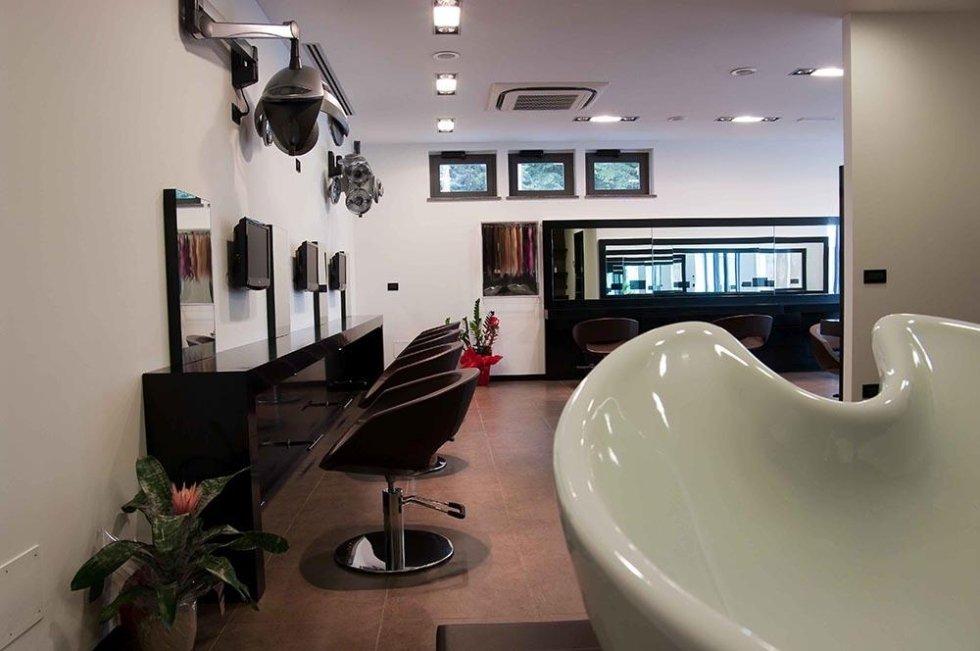 Salone parrucchiere - Lavandino lavacapelli