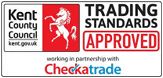 Kent County Council trading standards approved logo