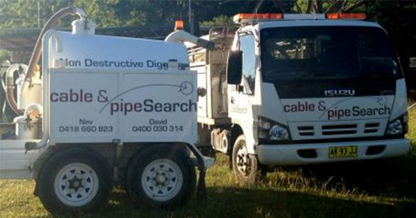 Fault Locating Truck : Underground locating coffs harbour cable pipe search