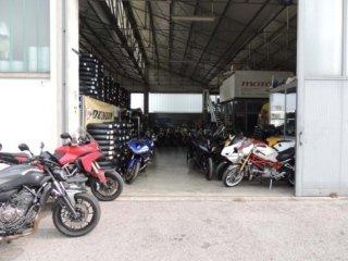 officina per moto