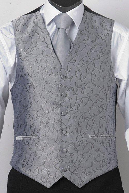 Silver loop vest