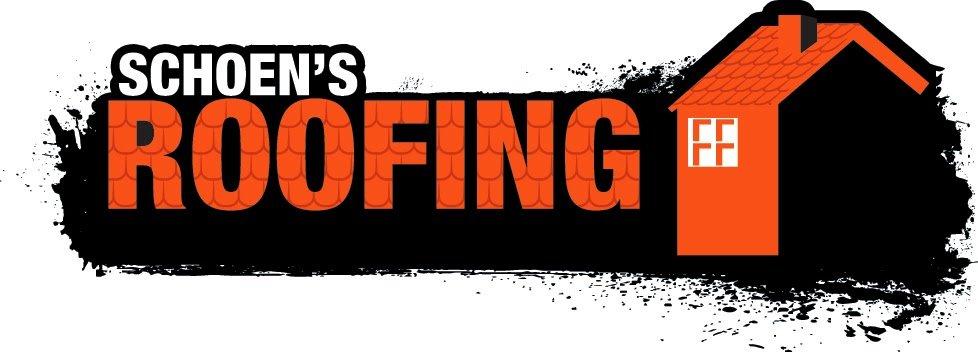 Schoen's Roofing logo