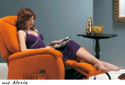 poltrona relax mod Alexia