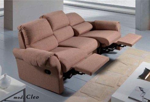 divano relax mod Cleo aperto