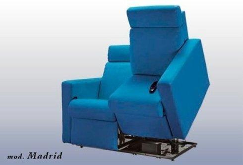 divano relax mod Madrid aperto