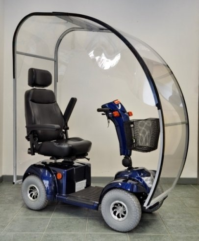 scooter elettrici coperti