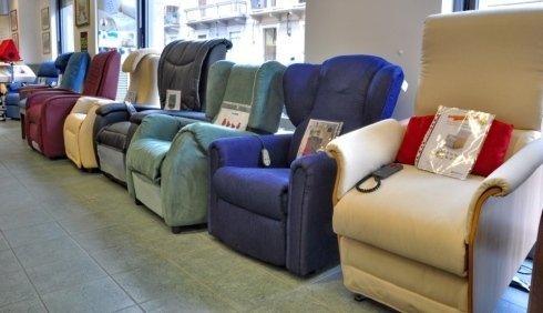 Spazio relax poltrone e divani che donano benessere al