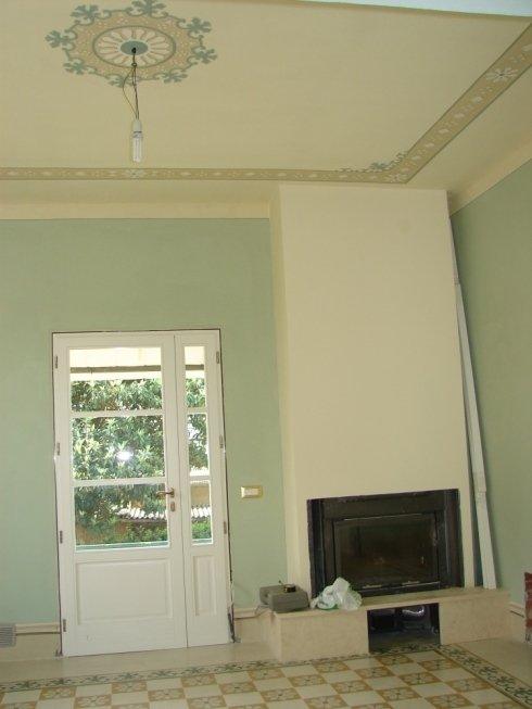 Decori su parete e soffitto